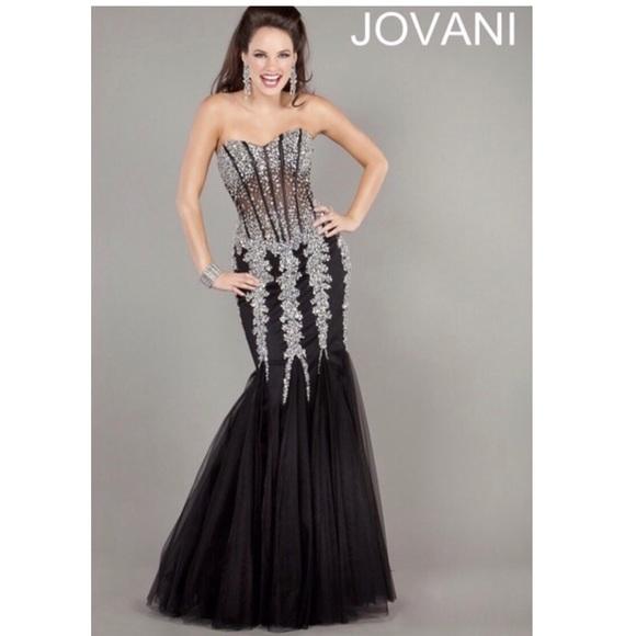 Jovani Mermaid Prom Dress